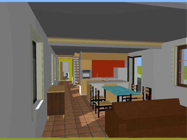 Vue 3D intérieur Bucamps