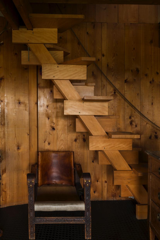 Escalier intérieur, Gérardmer