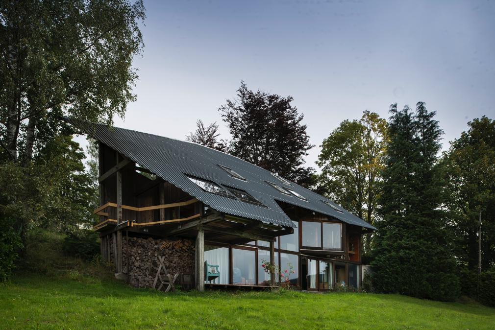 Vue générale de la maison d'architecte de Gérardmer.